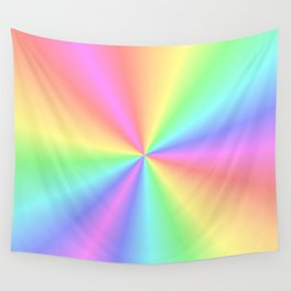 Rainbow Pattern 3 Wall Tapestry