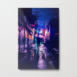 Colorful Seoul Metal Print