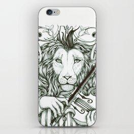 Lionviol iPhone Skin