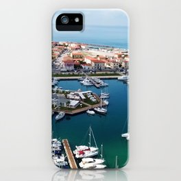 Italian Port of Pisa...Tuscany from above iPhone Case