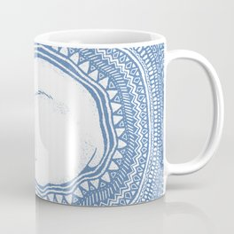 Polar bear, floe, pattern Coffee Mug