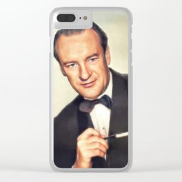 George Sanders, Hollywood Legend Clear iPhone Case