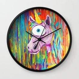 Spirit Animal Sight: Unicorn Wall Clock