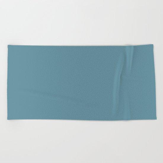 Tahitian Blue Beach Towel