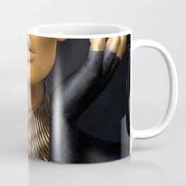Black Gold Fashion Print, Gold Fashion Decor, Gold Fashion Art Coffee Mug