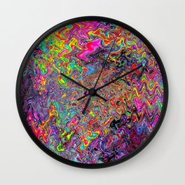 Alien Dubstep Wall Clock