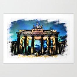 Brandenburger Tor I Art Print