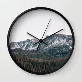 Last light in the Sierra Wall Clock
