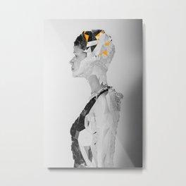 R_ Metal Print
