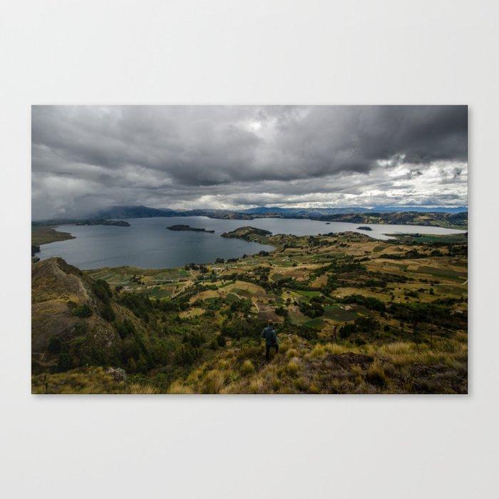 Lake Tota, Colombia Canvas Print