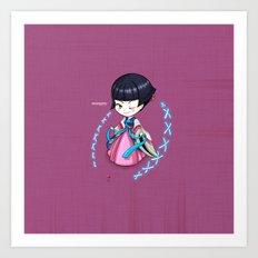 Chibi_corea Art Print