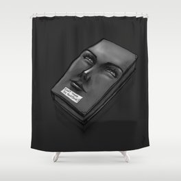 Don't Touch my Face Book Shower Curtain