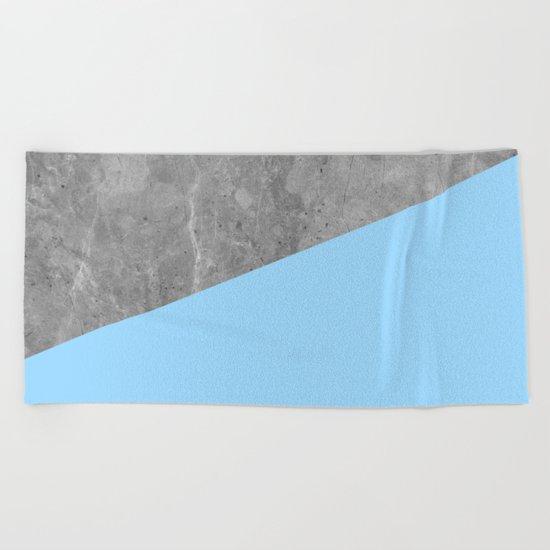 Geometry 101 Blue Raspberry Beach Towel