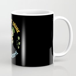 St Patricks Day, St Patricks Day Paddy, rainbow, Coffee Mug