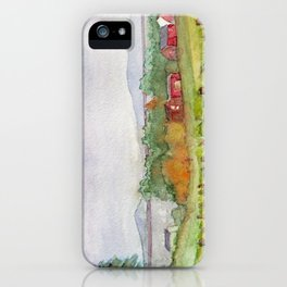 Snow Farm Winery iPhone Case