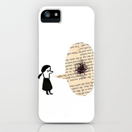 Chat. iPhone Case