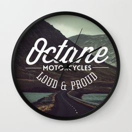 Loud & Proud Road Wall Clock