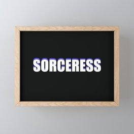 Sorceress Framed Mini Art Print