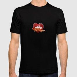 church, city, of refuge, ciudad, refugio, mesa, arizona, church of God, of prophecy T-shirt
