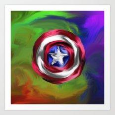 Captain Roger Art Print