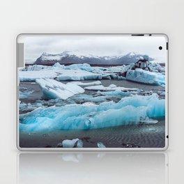 Jökulsárlón Glacier Lagoon, Iceland Laptop & iPad Skin