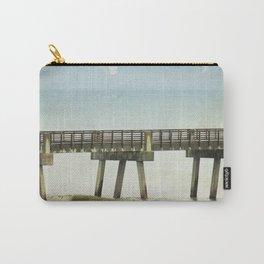 Jacksonville Beach Pier Carry-All Pouch