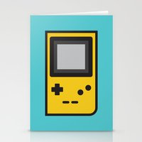 gameboy Stationery Cards featuring Gameboy by Andrea Ramirez