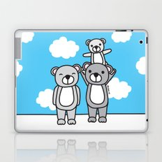 Polar Bear Family Laptop & iPad Skin