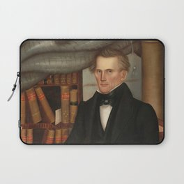 Vermont Lawyer Oil Painting by Horace Bundy Laptop Sleeve