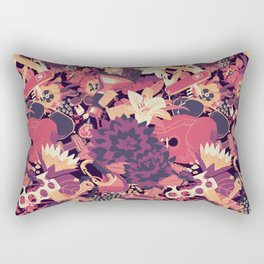 Black Dahlia (Blood Variant) Rectangular Pillow