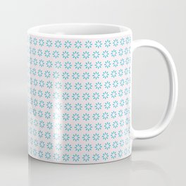 Blue Flower Chain Coffee Mug