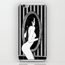 asc 635 - La disparition (She went to the other side and didn't come back) iPhone Skin