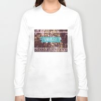 wanderlust Long Sleeve T-shirts featuring Wanderlust by AA Morgenstern
