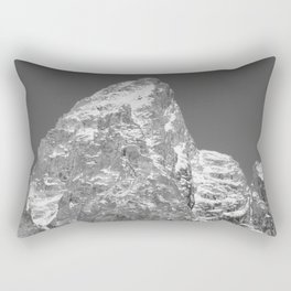 Peak Sprinkled with Snow Rectangular Pillow