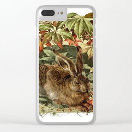 The Old Hare Clear iPhone Case