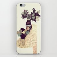 moose iPhone & iPod Skins featuring Moose by Chelsea Sherman
