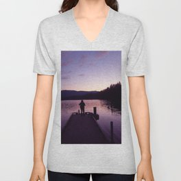 Getting Back With YOU Unisex V-Neck