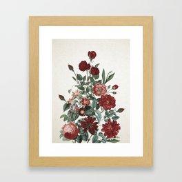 Romantic Garden II Framed Art Print