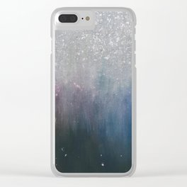 Bright Shiny Stars. Clear iPhone Case