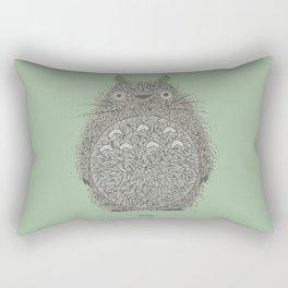 Green Totoro Rectangular Pillow