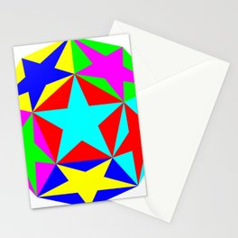 Half Dodecahedron Stars Stationery Cards
