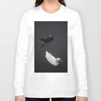ducks Long Sleeve T-shirts featuring Ducks by Kameron Elisabeth