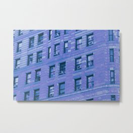Blue buildings Metal Print