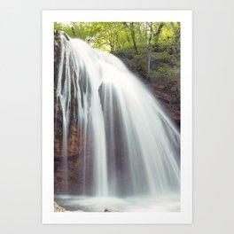 Djur-Djur Waterfall V Art Print