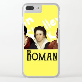 The Romantics (yellow) Clear iPhone Case