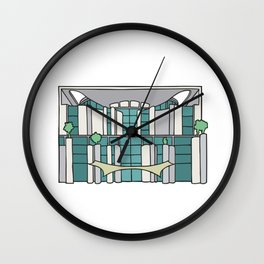 Chancellery in Berlin Wall Clock