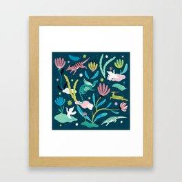 Dream Animals Framed Art Print