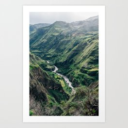 Drop Off (Colombia) Art Print