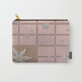 Sandal Eunry Snow Crystals Carry-All Pouch