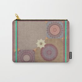Pallid Minty Base Mandalas Carry-All Pouch